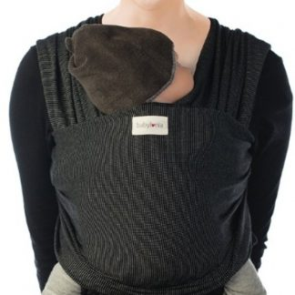 Babylonia Baby Carriers - Tricot-Slen Design draagdoek - Black Stipple
