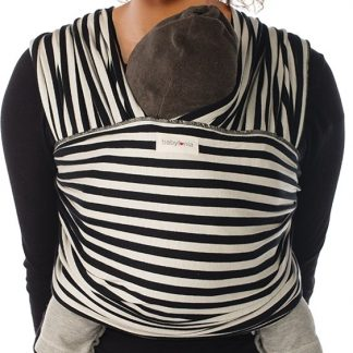 Babylonia baby carriers - Tricot-slen design - Black & white stripes - One size
