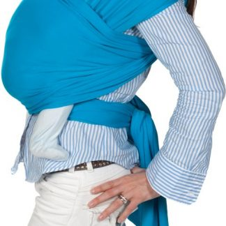 ByKay Stretchy Wrap de Luxe - Draagdoek maat M - Turquoise