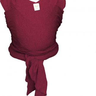 Bykay - Draagdoek - Stretchy Wrap Classic - Berry red - one size