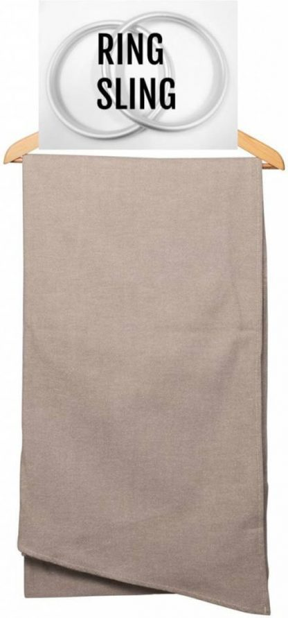 Pure Baby Love ring sling Taupe ringsling Draagdoek