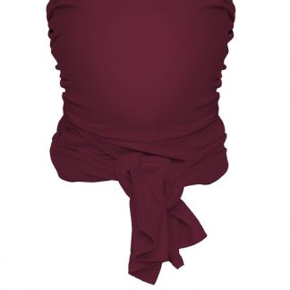Strechy wrap Deluxe Berry red- Large