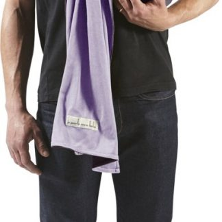 JPMBB Little No-Tie Wrap Draagdoek - Lavender, Glazed Brown (reversible)