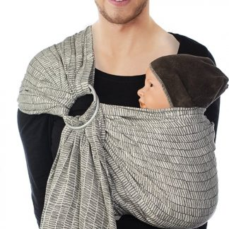 Babylonia baby carriers - BB-SLING - Bold - gathered