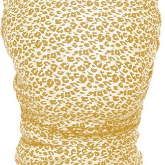 ByKay - Stretchy Wrap Deluxe - Yellow Leopard