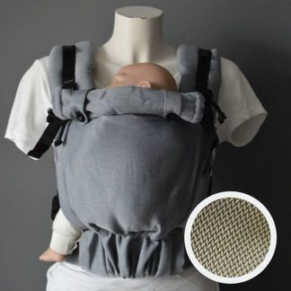 Pure Baby Love Draagzak Click & Go baby Olive