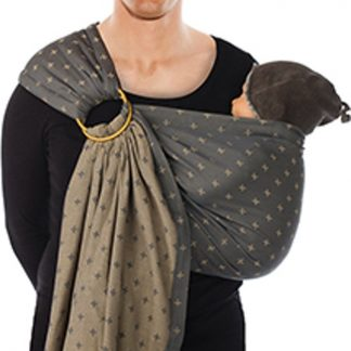 Babylonia draagdoek - BB-sling - Grey plus - padded