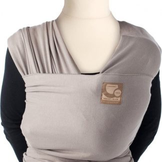 Babylonia TRICOT SLEN ORGANIC Draagdoek Baby - 500 cm - Mild Taupe