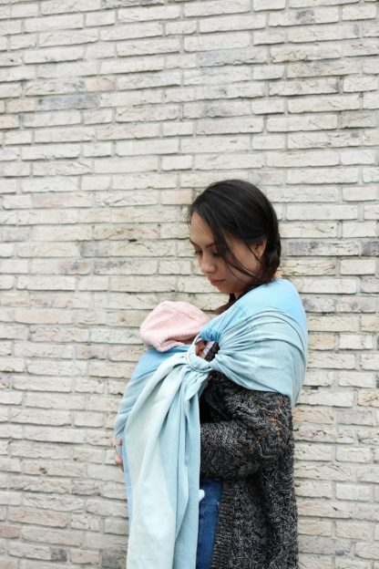 Yaro Newborn Blue Ring Sling