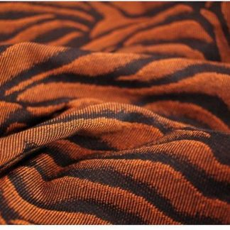 Yaro Tiger Black Orange -- Ring Sling
